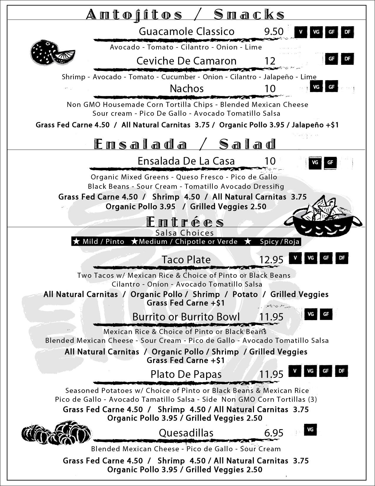 Menu - Apps/Salad/Entree